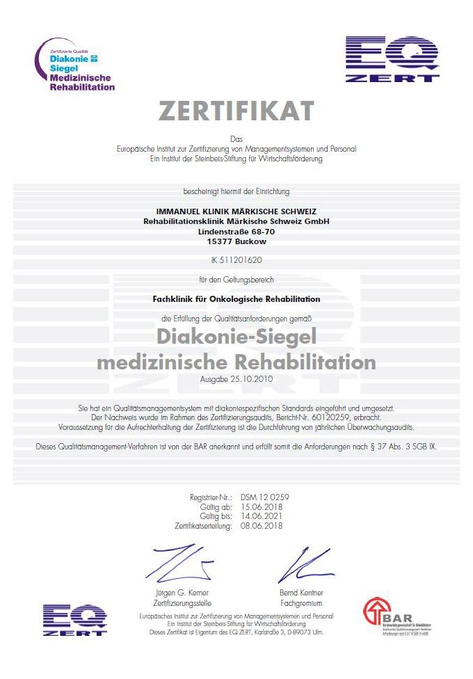 Qualitätsmanagement   Immanuel Klinik Märkische Schweiz